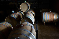 erath  160436 8/30/09-  The barrel room at Dos Cabezas WineWorks (CQ) in Sonoita, Ariz. (Pat Shannahan/ The Arizona Republic)