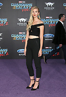 "HOLLYWOOD, CA - April 19: Emma Ishta, At Premiere Of Disney And Marvel's ""Guardians Of The Galaxy Vol. 2"" At The Dolby Theatre  In California on April 19, 2017. Credit: FS/MediaPunch"