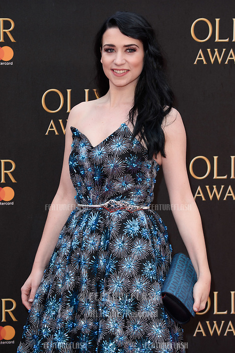 Danielle Hope arriving for the Olivier Awards 2018 at the Royal Albert Hall, London, UK. <br /> 08 April  2018<br /> Picture: Steve Vas/Featureflash/SilverHub 0208 004 5359 sales@silverhubmedia.com