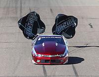 Feb 25, 2017; Chandler, AZ, USA; NHRA pro stock driver Bo Butner during qualifying for the Arizona Nationals at Wild Horse Pass Motorsports Park. Mandatory Credit: Mark J. Rebilas-USA TODAY Sports