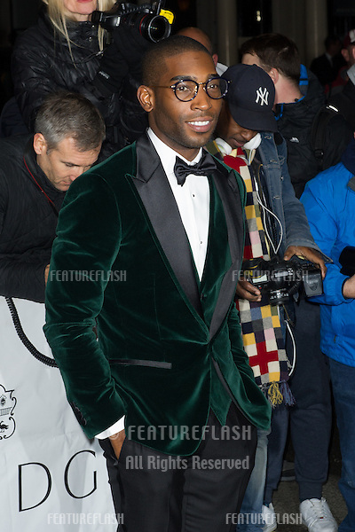 Tinie Tempah for the Harper's Bazaar Women of the Year Awards 2013<br /> Claridges Hotel, London. 05/11/2013 Picture by: Dave Norton / Featureflash