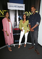 10 July 2019 - Los Angeles, California - MC Lyte, Malinda Williams, McKinley Freeman. LA Press Junket For TV One's A Month Of Love, Lies, And Murder held at TV One Headquarters. Photo Credit: Faye Sadou/AdMedia