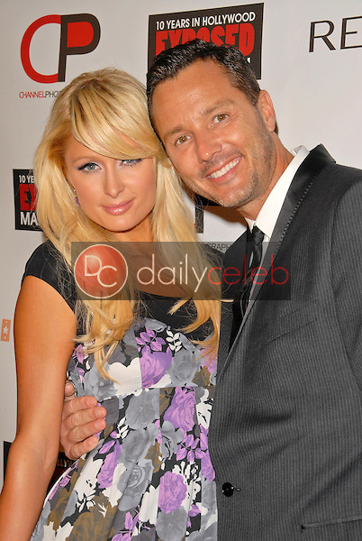 Paris Hilton and Mark Liddell<br />