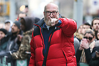 NOVA YORK, EUA, 19.12.2018 - CELEBRIDADES-EUA - Brian Posehn é visto no centro de Manhattan, em Nova York, Estados Unidos, nesta quarta-feira, 19. (Foto: William Volcov/Brazil Photo Press)