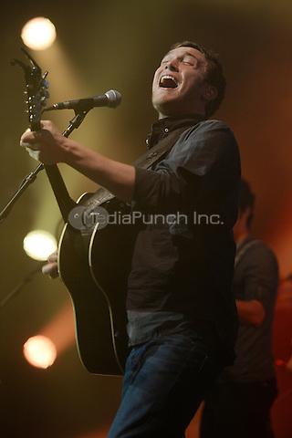 HOLLYWOOD FL - November 15 : Phillip Phillips performs at Hard Rock Live held at the Seminole Hard Rock Hotel & Casino on November 15, 2014 in Hollywood, Florida. Credit: mpi04/MediaPunch