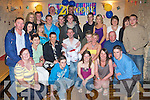 Key to The Door: Kenny Cronin, Killarney (seated centre), having a great time with family and friends at his 21st birthday party held in The Greyhound Bar, Tralee on Friday night.   Copyright Kerry's Eye 2008