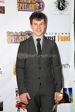 LOS ANGELES, CA - NOVEMBER 7: Nolan Gould at the Kids In The Spotlight's Movies By Kids, For Kids Film Awards at Fox Studios in Los Angeles, California on November 7, 2015. Credit: David Edwards/MediaPunch