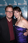 Daniel Pearce and Julia Murney attending the Off-Broadway Opening Night Performance After Party for 'Falling' at Knickerbocker Bar & Grill on October 15, 2012 in New York City.