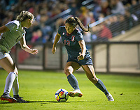 STANFORD, CA - August 24, 2018: Ceci Gee at Laird Q. Cagan Stadium. The Stanford Cardinal defeated the USF Dons 5-1.