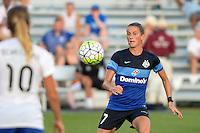 Kansas City, MO - Sunday August 28, 2016: Mandy Laddish during a regular season National Women's Soccer League (NWSL) match between FC Kansas City and the Boston Breakers at Swope Soccer Village.