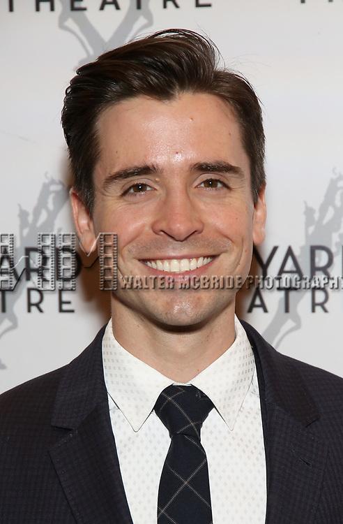 Matt Doyle attends the Vineyard Theatre Gala 2018 honoring Michael Mayer at the Edison Ballroom on May 14, 2018 in New York City.