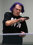Vern Moss practices for the Reno Tahoe Senior Games table tennis competition at the Carson City Senior Citizen Center in Carson City, Nev., on Friday, Jan. 29, 2016. <br /> Photo by Cathleen Allison
