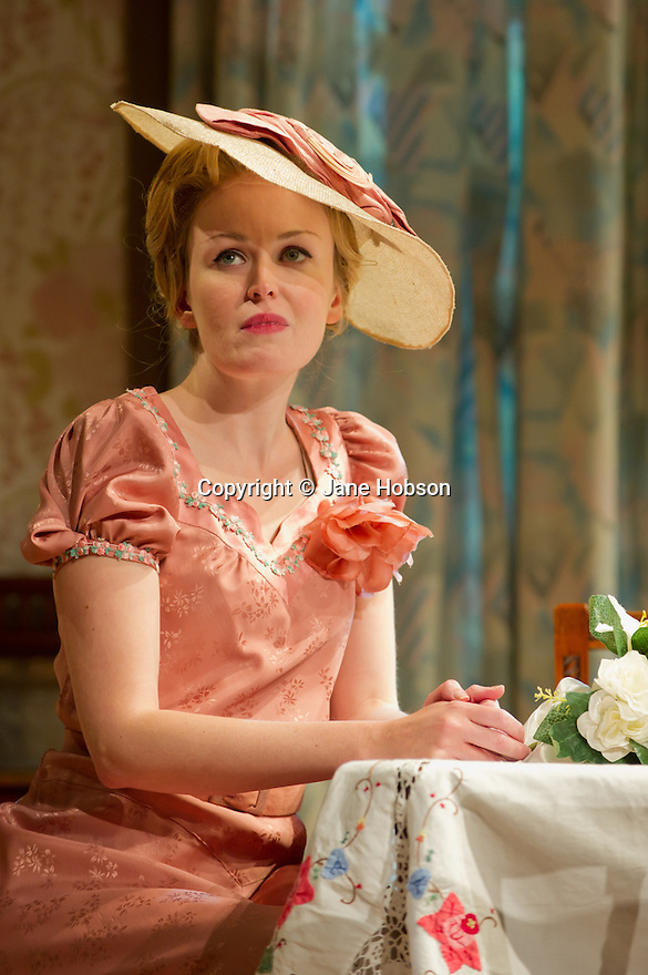 "Bath, UK. 25/07/2011. ""This Happy Breed"", by Noel Coward and directed by Stephen Unwin, opens in the Peter Hall Season at Theatre Royal Bath. Sally Tatum as Queenie. Photo credit: Jane Hobson"