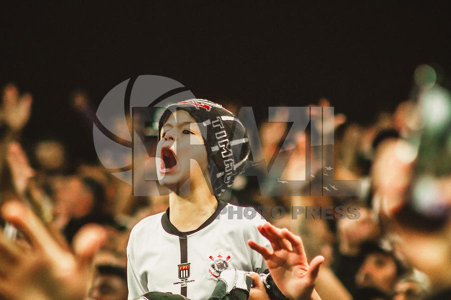 SÃO PAULO, SP, 05.10.2018 – CORINTHIANS-FLAMENGO – Torcida do Corinthians durante partida entre Corinthians e Flamengo valido pela 28º rodada do Campeonato Brasileiro 2018, disputada na Arena Corinthians em São Paulo, nesta sexta-feira, 05.(Foto: Danilo Fernandes/Brazil Photo Press)