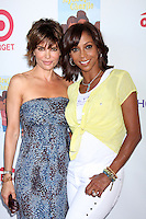 CULVER CITY, CA - AUGUST 12:  Lisa Rinna and Holly Robinson Peete at the 3rd Annual My Brother Charlie Family Fun Festival at Culver Studios on August 12, 2012 in Culver City, California.  Credit: mpi26/MediaPunch Inc.