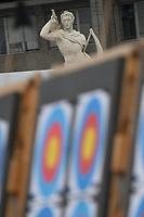 Bersagli e statua dell'arciere <br /> Roma 01-09-2017 Stadio dei Marmi <br /> Roma 2017 Hyundai Archery World Cup Final <br /> Finale Coppa del mondo tiro con l'arco <br /> Foto Andrea Staccioli Insidefoto/Fitarco