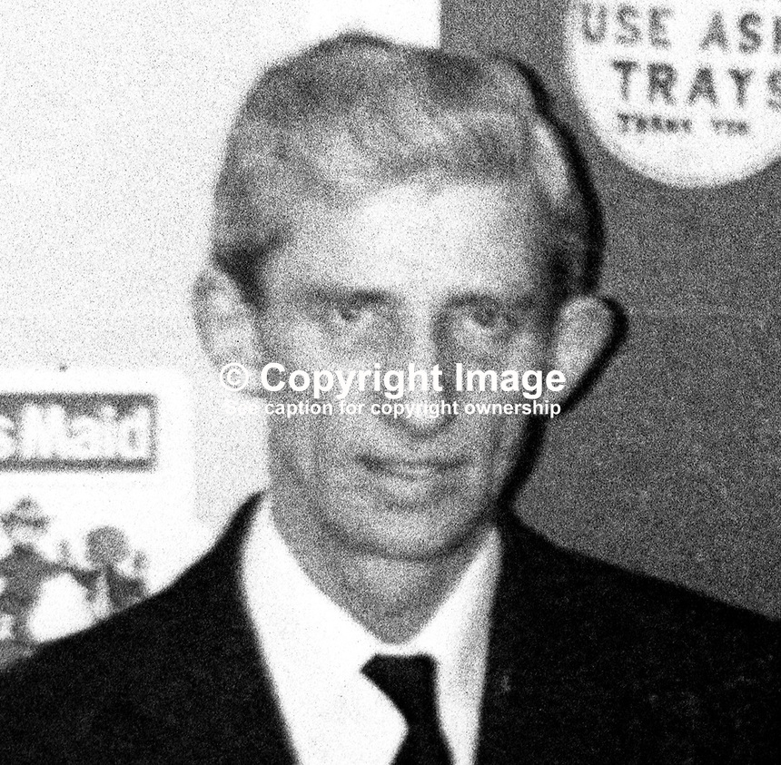 John Crawford, 52 years, married, from Andersonstown, Belfast, N Ireland, who was murdered by the UVF, 9th January 1974. He was a member of the Catholic Ex-Servicemen's Association. 1975001090587<br />