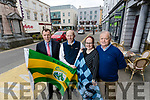 Dick Boyle, The Grand Hotel, Alan O'Sullivan, Benners, Jenny McMahon, The Imperial Hotel and Garry O'Donnell, Bailys Corner getting ready for a bumper weekend for the Kerry v Dublin match in Tralee.