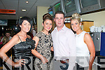 Shauna O'Shea and her dad Michael,Marian Pk,Tralee(seated centre)both celebrated their 18th and 40th birthdays with family&friends in the Tralee greyhound stadium last friday night.