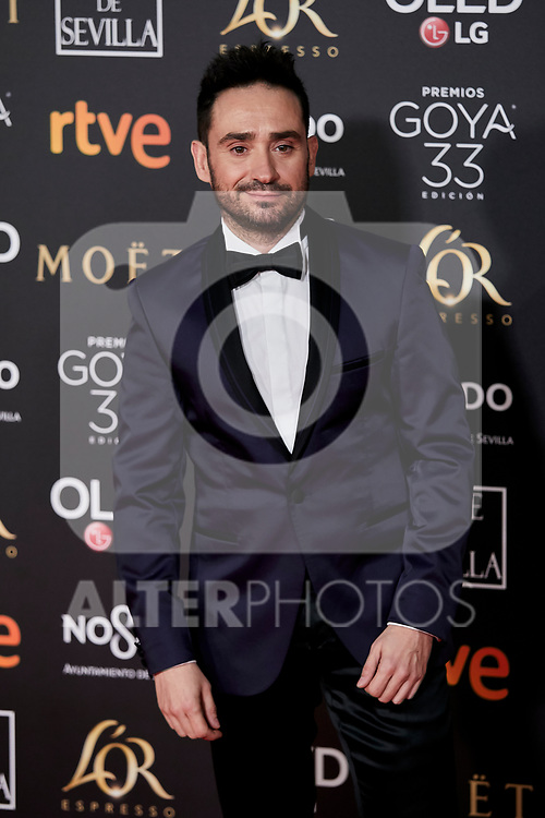 Juan Antonio Bayona attends to 33rd Goya Awards at Fibes - Conference and Exhibition  in Seville, Spain. February 02, 2019. (ALTERPHOTOS/A. Perez Meca)