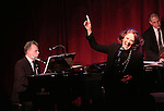 Linda Lavin with Billy Stritch and her band performing 'My First Farewell Concert' at Birdland on February 1, 2016 in New York City.