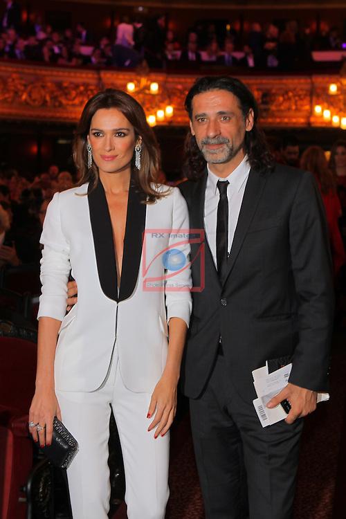 63 Premios Ondas.<br /> Gala de Entrega de los premios.<br /> Mar Saura &amp; Nacho Fresneda.