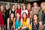 The Staff of Dunnes the Horan Centre enjoying their Christmas party on Saturday night. Front l-r  Jade Enright, Janet Jones, Lorraine Williams, Sharon O'Sullivan,  Back Sarah Jones, Diane Mansfield, Ann Marie Nash, Trish Ryall, Fiona Barrett, Michelle James, Brian McCarthy, Mary Molyneux and Patrick O'Shea.