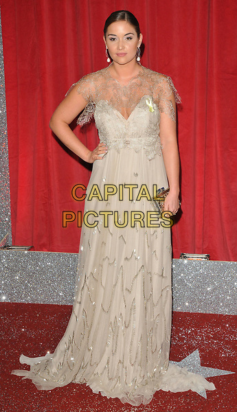 Jacqueline Jossa at the British Soap Awards 2017, The Lowry Theatre, Pier 8, Salford Quays, Salford, Manchester, England, UK, on Saturday 03 June 2017.<br /> CAP/CAN<br /> &copy;CAN/Capital Pictures