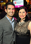 Sean and Gina Turon at the Simon Fashion Now event at the Houston Galleria Thursday April 14,2011.(Dave Rossman/For the Chronicle)