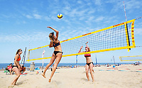 Nederland Scheveningen  2017 .  Summer Beach Volleyball Circuit.   Foto Berlinda van Dam / Hollandse Hoogte