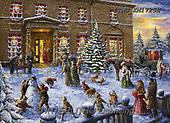 Marcello, CHRISTMAS LANDSCAPES, WEIHNACHTEN WINTERLANDSCHAFTEN, NAVIDAD PAISAJES DE INVIERNO, paintings+++++,ITMCXM1725E,#XL#