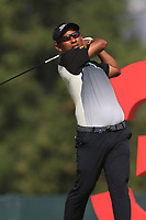 Thongchai Jaidee (THA) on the 3rd during Round 3 of the Omega Dubai Desert Classic, Emirates Golf Club, Dubai,  United Arab Emirates. 26/01/2019<br /> Picture: Golffile | Thos Caffrey<br /> <br /> <br /> All photo usage must carry mandatory copyright credit (© Golffile | Thos Caffrey)