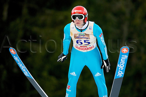 13.12.2013 Titisee-Neustadt Germany. Mens World Cup Ski-Jumping Training and Qualification. WELLINGER Andreas (GER)