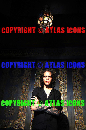 HIM; Ville Valo; Studio Portrait Session .Photo Credit: Eddie Malluk/Atlas Icons.com