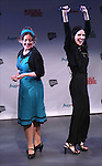 Jennifer Simard and Stephanie D'Abruzzo and from 'Academia Nuts'<br /> at a special preview of the 2014 New York Musical Theatre Festival (NYMF) at Ford Foundation Studio Theatre in The Pershing Square Signature Center on July 2, 2014 in New York City.