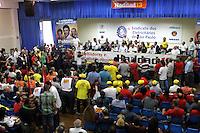 ATENCÃO EDITOR: FOTO EMBARGADA PARA VEICULO INTERNACIONAL - SÃO PAULO, SP, 17 OUTUBRO 2012 - ELEICÕES SÃO PAULO 2012- FERNANDO HADDAD -  O candidato a prefeitura de São Paulo pelo PT Fernando haddad em ato no sindicato dos eletricitários de sp em que recebeu o apoio de Brizola Neto e sindicalistas, na disputa pela prefeitura de São Paulo na Liberdade região central da capital nessa quarta, 17. (FOTO: LEVY RIBEIRO / BRAZIL PHOTO PRESS)
