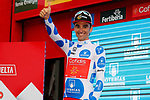 Luis Angel Mate Mardones (ESP) Cofidis retains the Polka Dot Jersey at the end of Stage 6 of the La Vuelta 2018, running 150.7km from Hu&eacute;rcal-Overa to San Javier, Mar Menor, Sierra de la Alfaguara, Andalucia, Spain. 30th August 2018.<br /> Picture: Unipublic/Photogomezsport | Cyclefile<br /> <br /> <br /> All photos usage must carry mandatory copyright credit (&copy; Cyclefile | Unipublic/Photogomezsport)