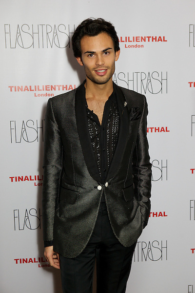 Mark-Francis Vandelli from Made in Chelsea at the Myflashtrash Halloween Party at Barrio, Soho, London