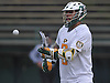 Matt Bellando #2 of LIU Post catches a pass during the the ECC men's lacrosse championship against New York Institute of Technology at LIU Post on Saturday, May 7, 2016. He scored five goals in Post's 12-11 win.