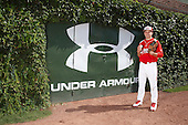 Pitcher Brett Morales (34) poses for a photo before the Under Armour All-American Game at Wrigley Field on August 18, 2012 in Chicago, Illinois.  (Copyright Mike Janes Photography)