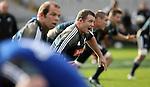 Tony Woodcock. All Blacks training. 19 July 2007