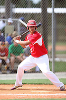 Andrew Sharpe, #49 of Nansemond River High School, VA for the Richmond Braves Team during the WWBA World Championship 2013 at the Roger Dean Complex on October 25, 2013 in Jupiter, Florida. (Stacy Jo Grant/Four Seam Images)
