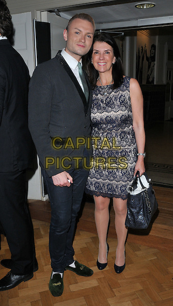 guest &amp; Dr Dawn Harper at the London Musical Theatre Orchestra Gala &amp; season launch, The Bishopsgate Institute, Bishopsgate, London, England, UK, on Tuesday 28 June 2016.<br /> CAP/CAN<br /> &copy;CAN/Capital Pictures