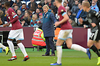 West Ham Manager Manuel Pellegrini during West Ham United vs Burnley, Premier League Football at The London Stadium on 3rd November 2018