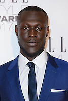 www.acepixs.com<br /> <br /> February 13 2017, London<br /> <br /> Stormzy arriving at the Elle Style Awards 2017 on February 13, 2017 in London, England<br /> <br /> By Line: Famous/ACE Pictures<br /> <br /> <br /> ACE Pictures Inc<br /> Tel: 6467670430<br /> Email: info@acepixs.com<br /> www.acepixs.com