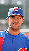 Rubi Silva #27 of the Chicago Cubs .Photo by:  Bill Mitchell/Four Seam Images.