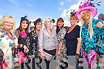 Tralee ladies Tessy Breen, Kay Hurley, Hanah Shanahan, Caroline Curley, Loraine McIntyre, Carol O'Connor and Sandra Breen enjoying  ladies day last Friday afternoon in Listowel...REF :Tanya