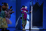 John Rubinstein and Jake Ryan Flynn during the Broadway Opening Performance Curtain Call of 'Charlie and the Chocolate Factory' at the Lunt-Fontanne Theatre on April 23, 2017 in New York City.