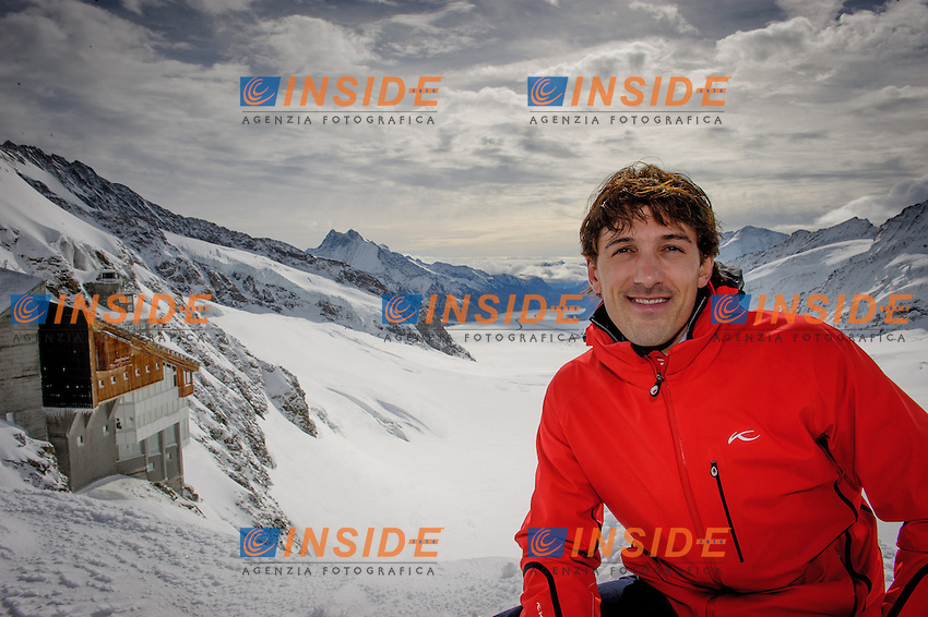 Fabian Cancellara (SUI) .Jungfraujoch 11/10/2012.Foto Daniel Christen / EQ Images / Panoramic / Insidefoto.ITALY ONLY