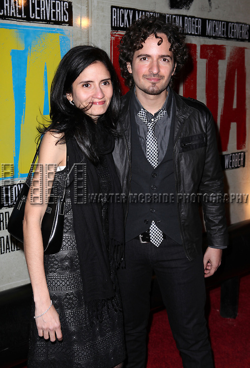 Tommy Torres.attending the Broadway Opening Night Performance of 'EVITA' at the Marquis Theatre in New York City on 4/5/2012 © Walter McBride / WM Photography
